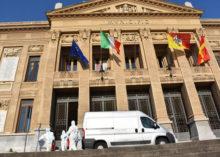 CORONAVIRUS: L'ESERCITO IGIENIZZA PALAZZI ISTITUZIONALI IN SICILIA