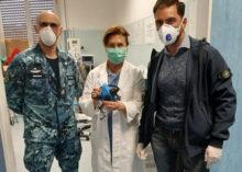 EMERGENZA COVID-19: LE MASCHERE DEI PALOMBARI DELLA MARINA IN PROVA ALL'OSPEDALE SANT'ANDREA DI LA SPEZIA