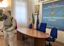 SANIFICAZIONE AL CARCERE DI SAN SEVERO (FG)