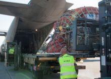 UCRAINA: INVIATI AIUTI UMANITARI CON VELIVOLO C-130J