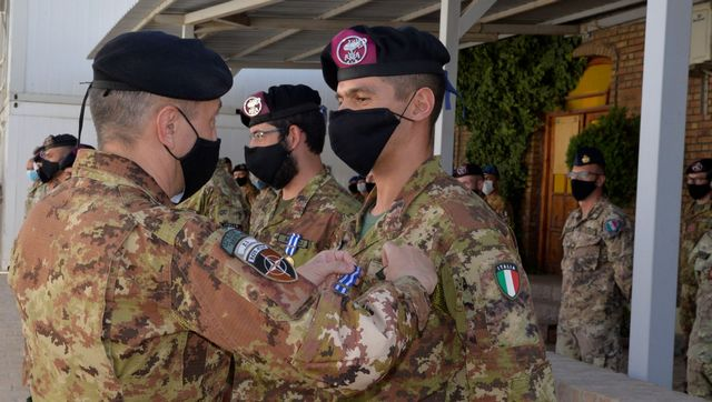 MISSIONE IN AFGHANISTAN: MEDAL PARADE AL TAAC-W DI HERAT
