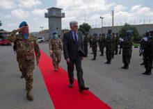 LIBANO: VISITA DEL MINISTRO DEGLI ESTERI LIBANESE A UNIFIL
