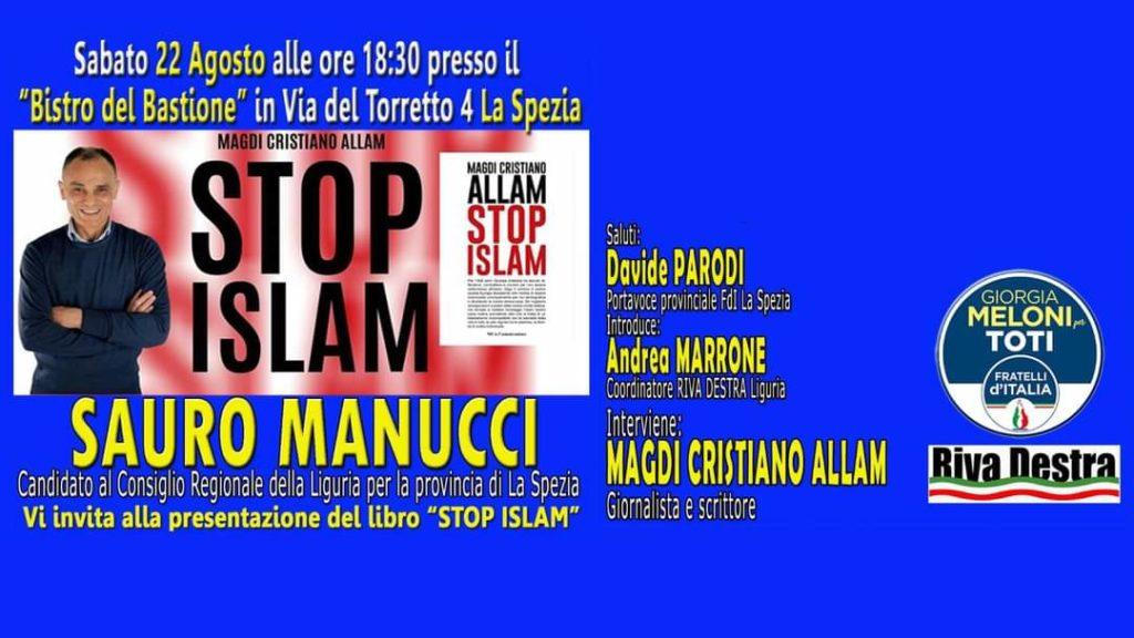 Riva Destra con Magdi Allam a fianco di Fratelli d'Italia per le elezioni in Liguria