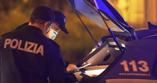 """RIETI: CONTROLLI ANTI COVID-19 NEI LUOGHI DELLA """"MOVIDA"""" REATINA. LA POLIZIA DI STATO SEDA UNA RISSA."""