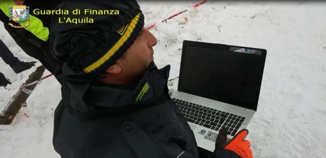 GUARDIA DI FINANZA: I SAGF DI L'AQUILA E ROCCARASO IMPEGNATI NELLA RICERCA DEI 4 DISPERSI.