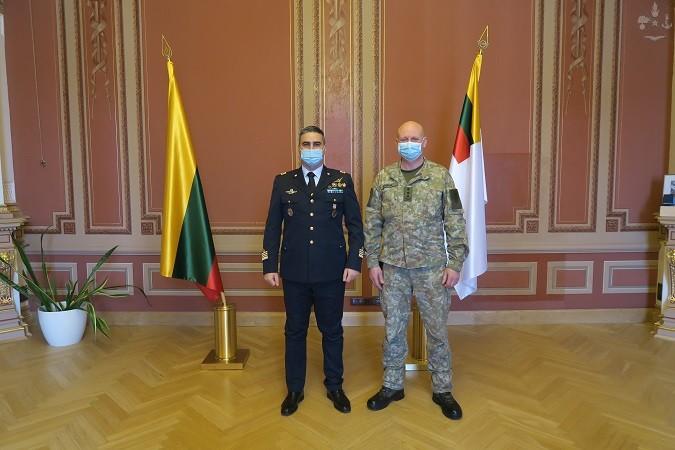 MISSIONE IN LITUANIA: VISITA DEL COMANDANTE FORZE AEREE LITUANE