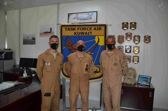 KUWAIT: AVVICENDAMENTO AL COMANDO DELLA TASK FORCE AIR