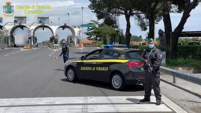 GUARDIA DI FINANZA, CATANIA: CONTRASTO AL TRAFFICO DI SOSTANZE STUPEFACENTI