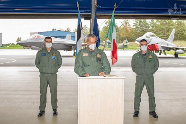 MISSIONE IN ESTONIA: CAMBIO AL COMANDO DELLA TASK FORCE AIR