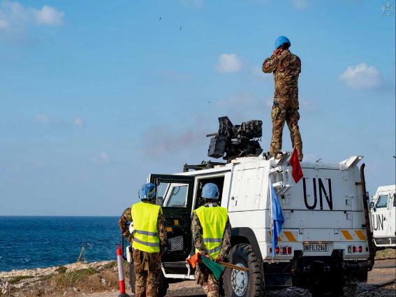 UNIFIL: I CASCHI BLU HANNO PRESO PARTE ALLA STEEL STORM II/2021