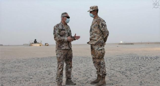 MISSIONE IN IRAQ: IL COMANDANTE DI ITNCC – LAND IN KUWAIT