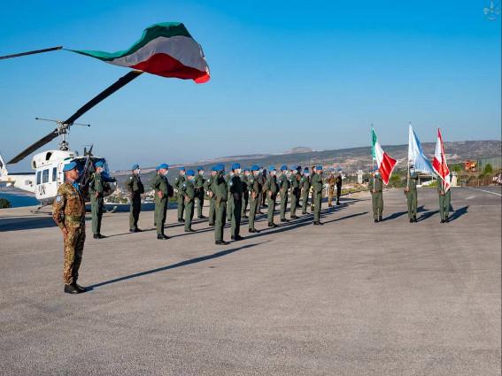 UNIFIL: CERIMONIA DI AVVICENDAMENTO ALLA TASK FORCE ITALAIR