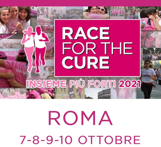 ESERCITO E RACE FOR THE CURE 2021