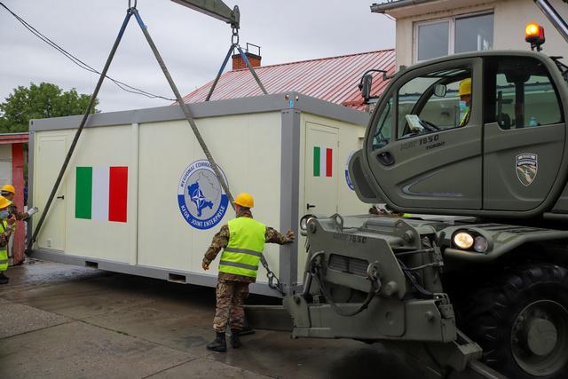 MISSIONE IN KOSOVO: ATTIVITÀ CIMIC PER IL CONTINGENTE ITALIANO